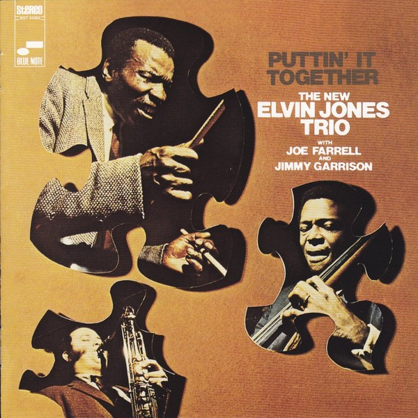 elvin jones trio - puttin' it together (sleeve art)