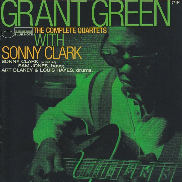 grant green - the complete quartets w/sonny clark (sleeve art)